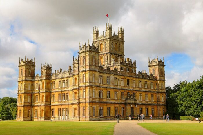 castle, highclere, hampshire
