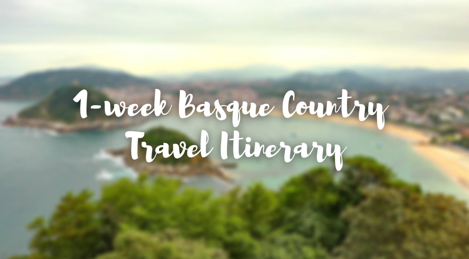 cover image basque country itinerary