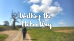 cover image me walking the itchen way