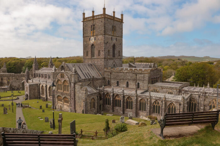 Cathedral of St. Davids in Wales